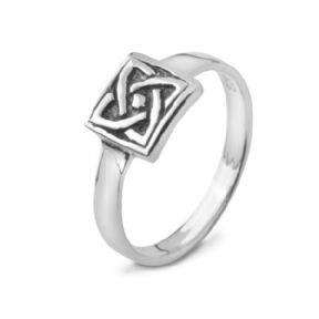 Celtic Knot Silver Ring 9404